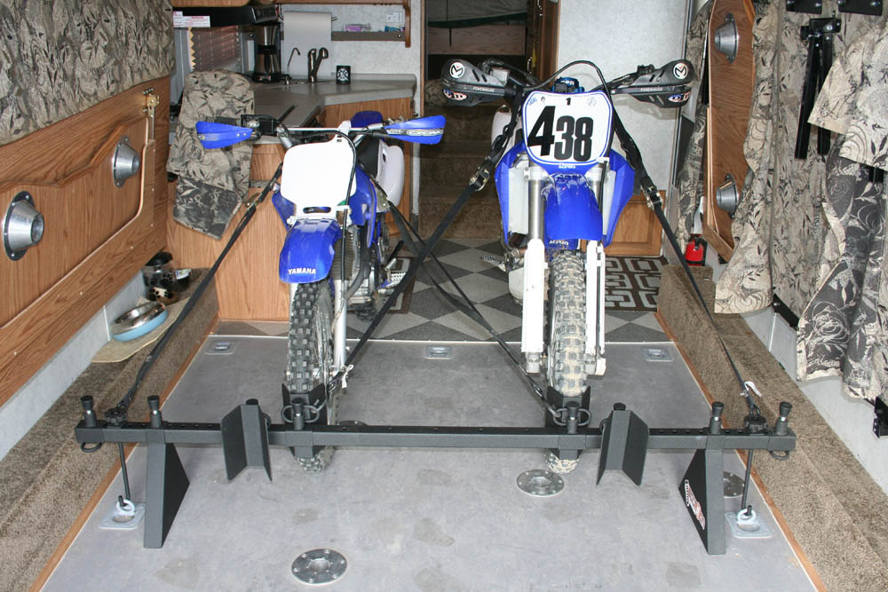 2 Dirt Bike Rack System