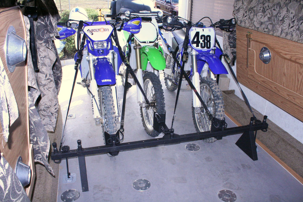 3 Dirt Bike Rack System